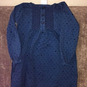 Hanna Andersson Long Sleeved Dress, size 110